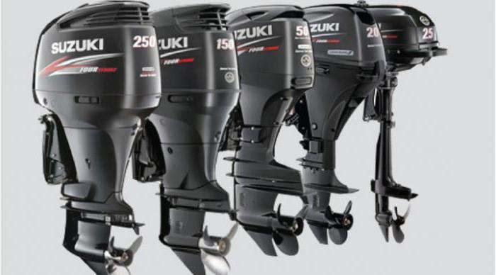 Suzuki (лодочные моторы): модели, характеристики, отзывы