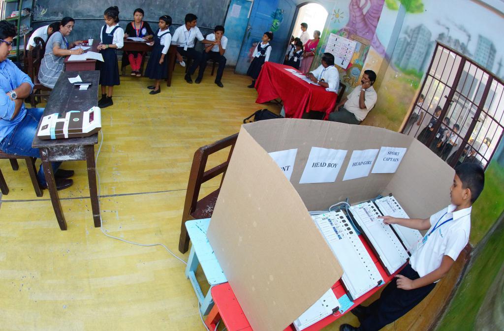 Как провести выборы президента школы? Пример