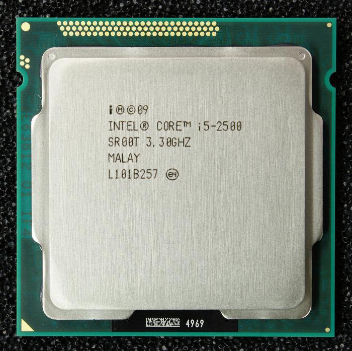 Процессор Intel Core i5 2500: технические характеристики, описание и отзывы