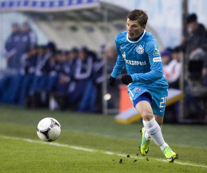 Российский футболист Андрей Аршавин
