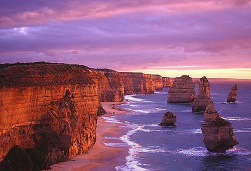 «Двенадцать Апостолов» Австралии – визитная карточка штата Виктория