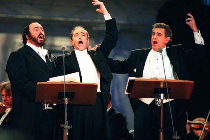 Итальянские певцы: немного истории и современность