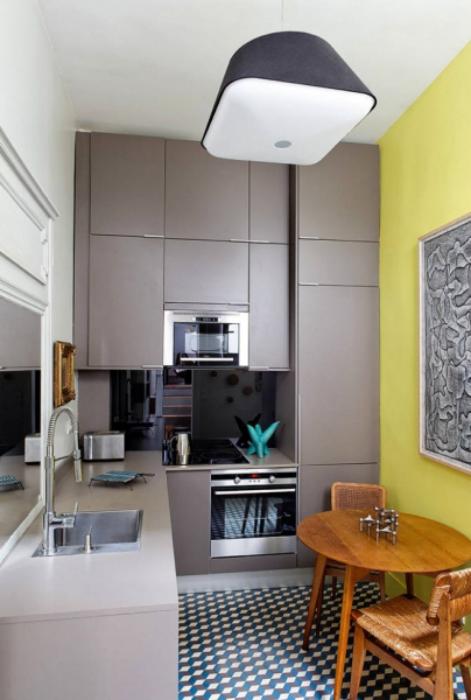 18 вдохновляющих интерьеров, на которые стоит взглянуть всем владельцам небольших кухонь