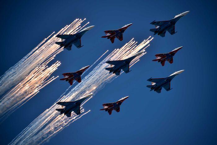 Эскадрилья - это какое количество самолетов?