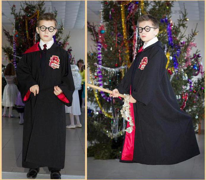 Как сделать костюм Гарри Поттера для мальчика своими руками?