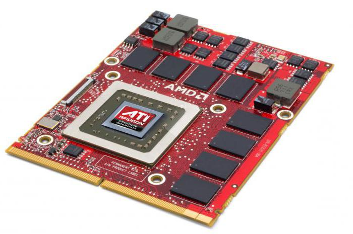 Мобильная видеокарта ATI Mobility Radeon HD 5470