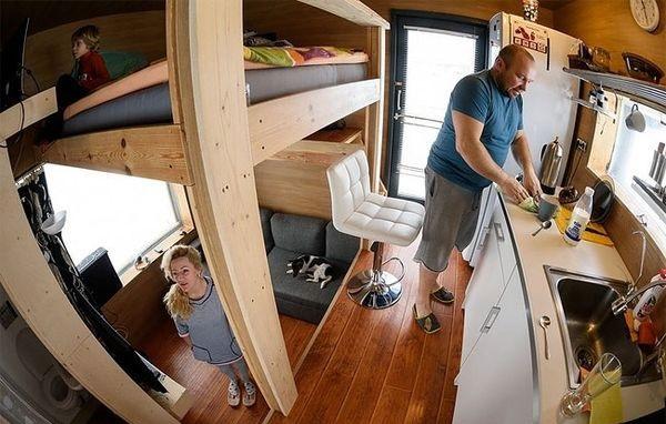 Этот маленький домик удивит тебя по 3 причинам. Только посмотри, что находится внутри него!