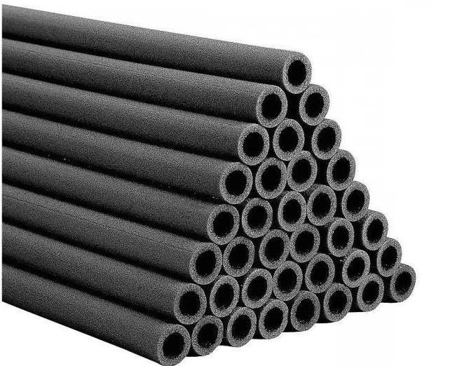 Утеплители для труб из вспененного полиэтилена: характеристики, размеры. Теплоизоляция труб