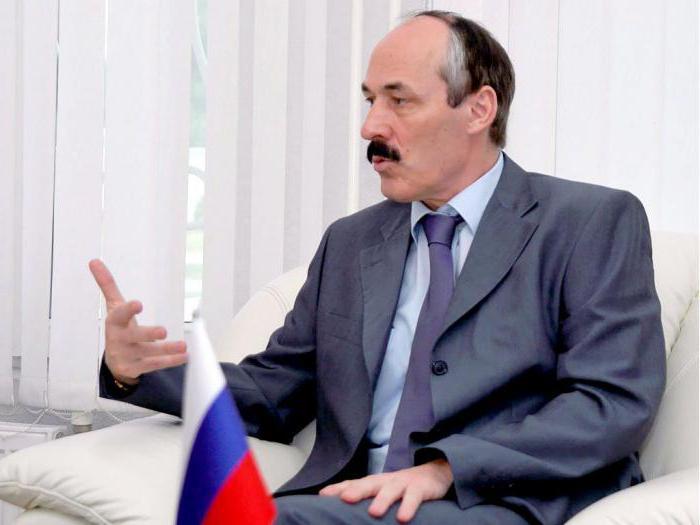 Президент Дагестана Рамазан Абдулатипов: биография, фото и интересные факты