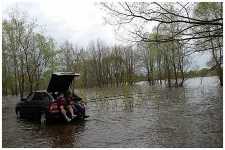 Когда рыбалка — наслаждение