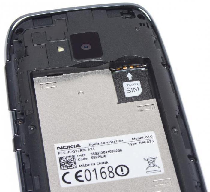 Телефон Nokia 610: характеристики, отзывы