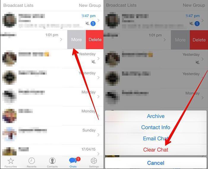 Как из WhatsApp удалить контакт: советы и рекомендации