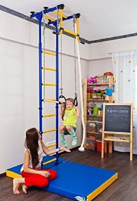 Детские спортивные комплексы для дома: виды, описание, отзывы