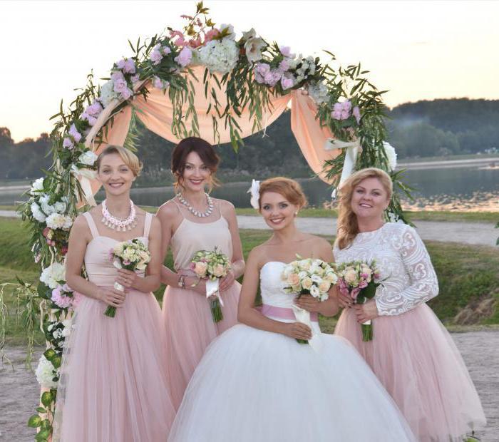 «Одноклассницы». Актеры антирекламы свадьбы