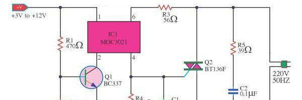 Твердотельное реле тока: управление, подключение