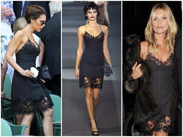Платье-комбинация: как и с чем носить?