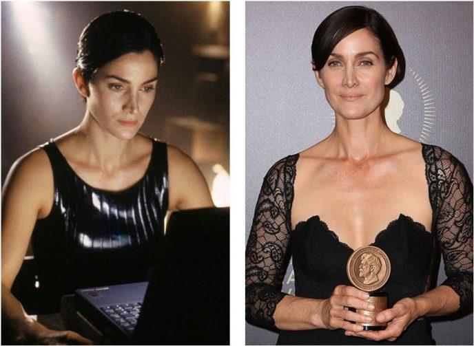 Тогда и сейчас: Как выглядят герои «Матрицы» 18 лет спустя