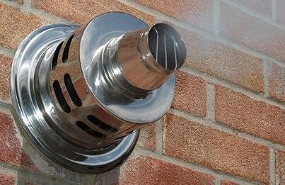 Как установить газовый парапетный котел?