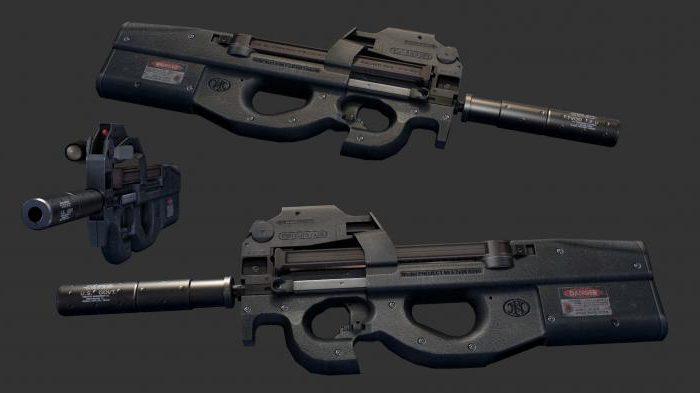 Пистолет пулемет FN P90: обзор, характеристики и отзывы