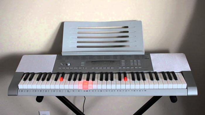 Синтезаторы Casio: характеристики и отзывы