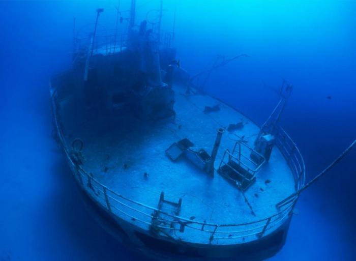 18 затонувших кораблей, о которых забыли напрочь