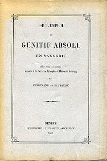 Фердинанд де Соссюр, швейцарский лингвист: биография, труды по языкознанию