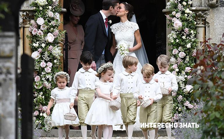 Долгожданные фотографии со свадебной церемонии Пиппы Миддлтон