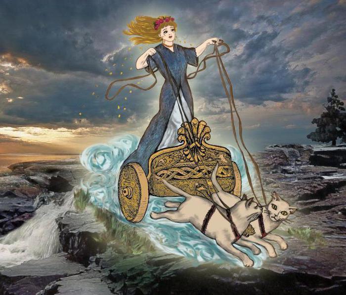 Богиня Фрейя в германо-скандинавской мифологии