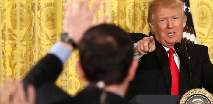 Трамп дал свою самую необычную пресс-конференцию