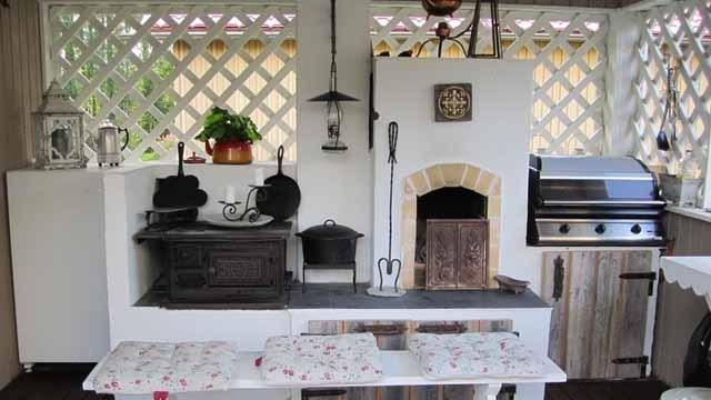 Простая летняя кухня своими руками: практичные советы