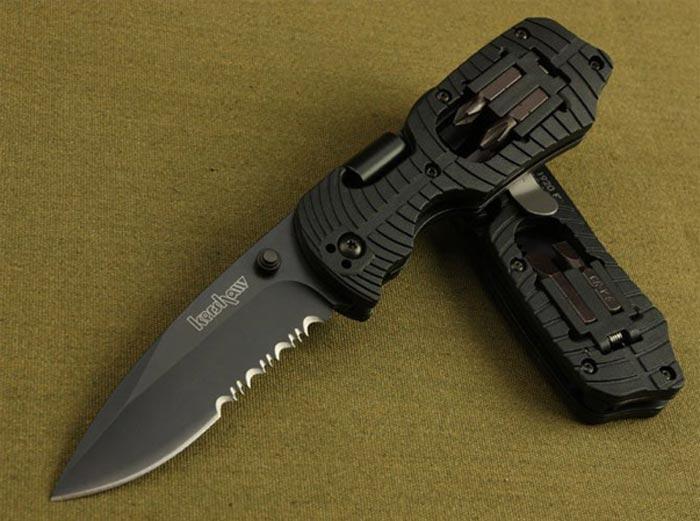 Режь и крути: перочинный нож с набором отверток, который выручит в любой ситуации