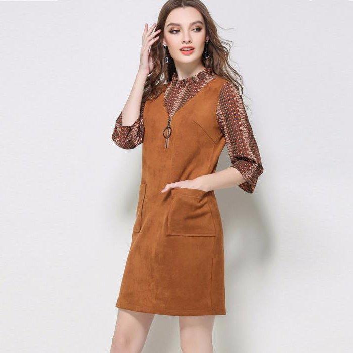Замшевое платье: обзор моделей, особенности сочетания и рекомендации