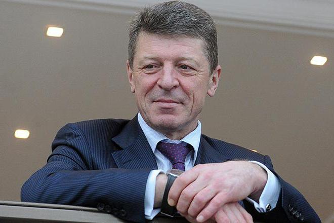 Дмитрий Козак: биография члена правительства России