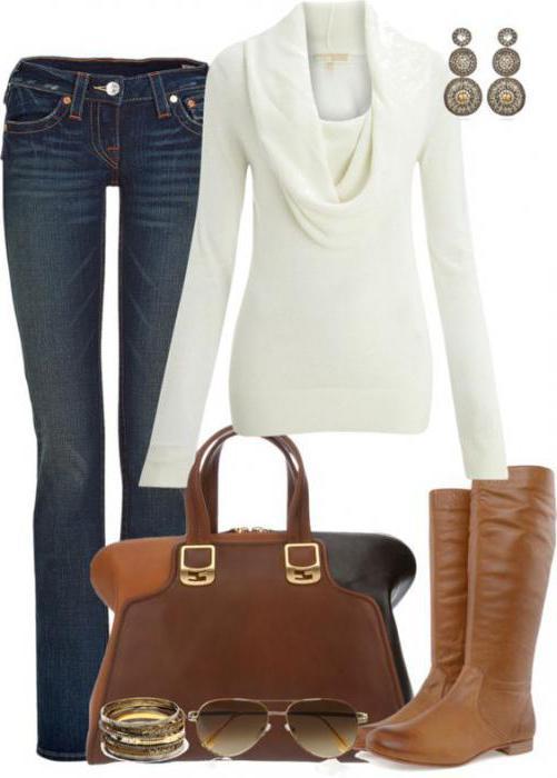 Свитер белый: модели, с чем носить, кому идет