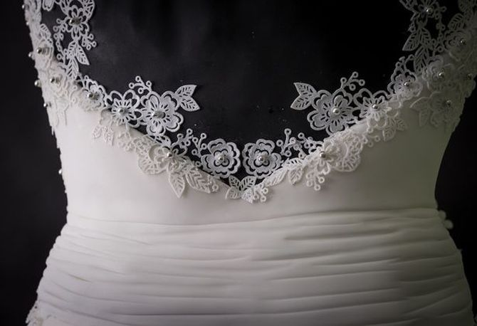 Это великолепное платье не захочет надеть ни одна невеста. А ты уже догадался почему?