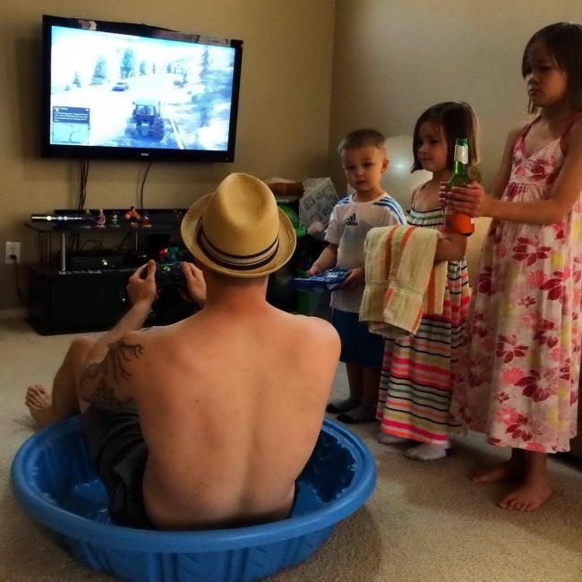 17 причин, почему не стоит оставлять детей с папой