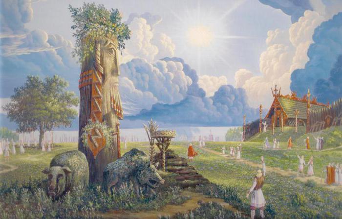 Бог Род: символ, день, молитва