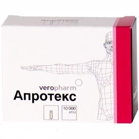 Препарат  Апротекс : инструкция по применению, формы выпуска