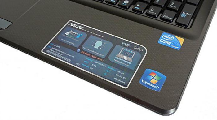 Ноутбук Asus K52F: характеристики и отзывы