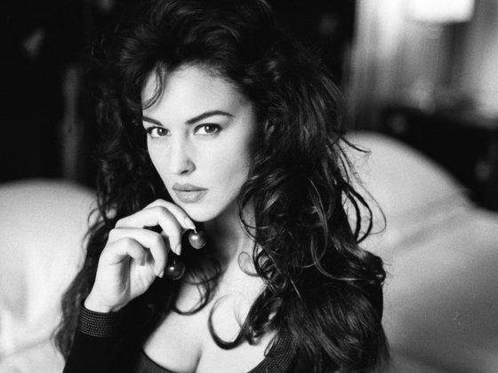 Моника Белуччи в молодости. Фотографии актрисы