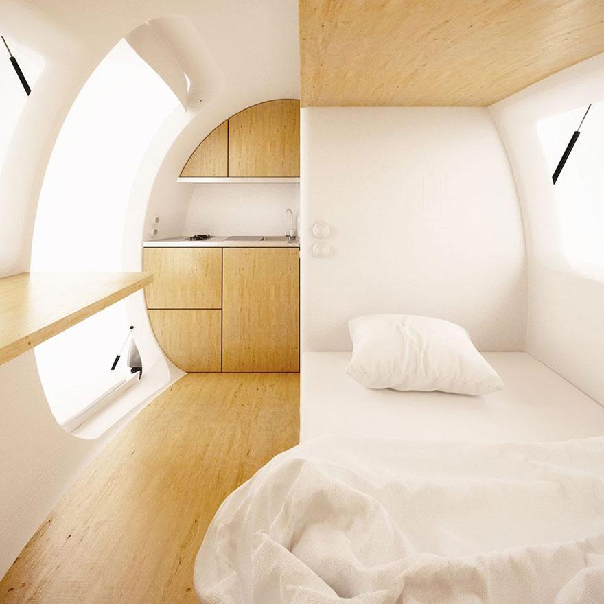 Поставьте этот крошечный домик где угодно - и живите в любой точке мира!