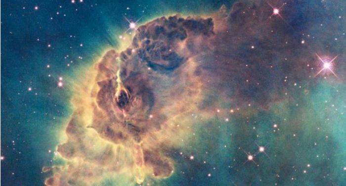 Астрономы обнаружили таинственную гигантскую туманность из Древней Вселенной