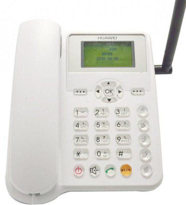 Телефоны стационарные с СИМ-картой: характеристики и отзывы