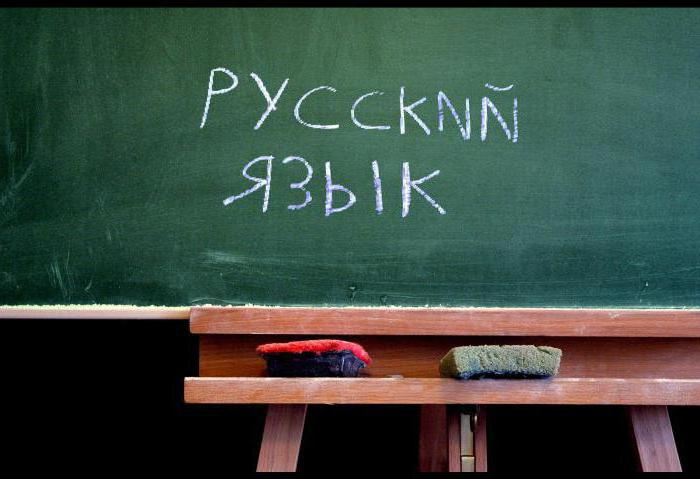Русский язык. Разделы русского языка как науки