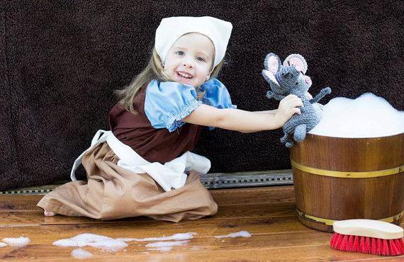 Как сделать костюм Золушки своими руками