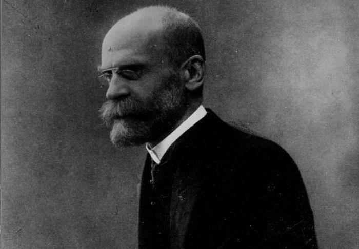 Социология Эмиля Дюркгейма Кратко