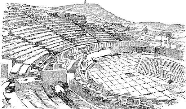 Театр Диониса в Афинах: история, описание и интересные факты