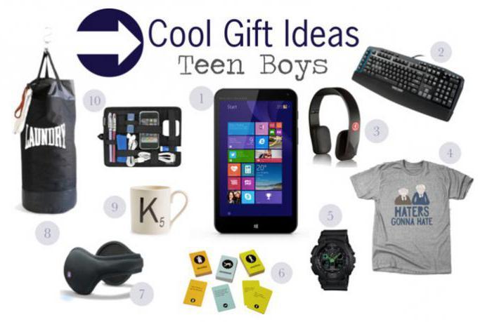Что подарить мальчику на 12 лет на день рождения?