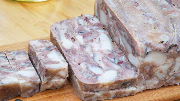 Рецепт приготовления свиной головы в домашних условиях