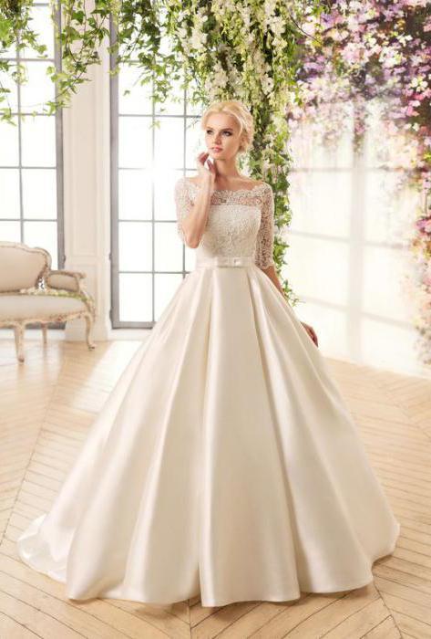Свадебные платья и характеристика к ним